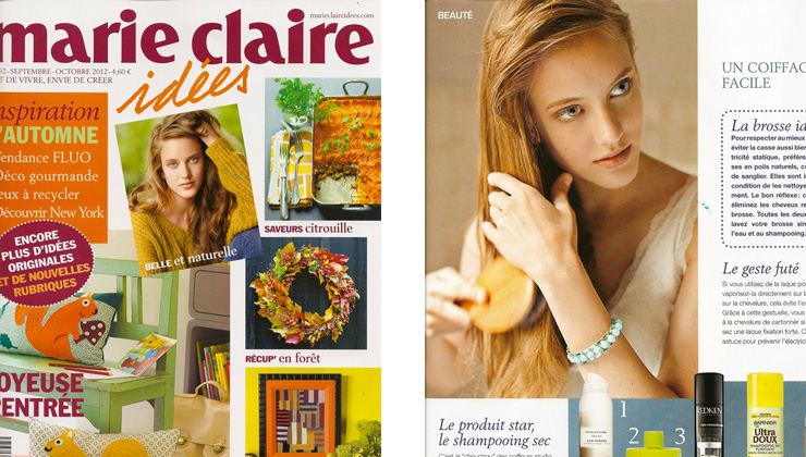 MArie Claire sept 2012
